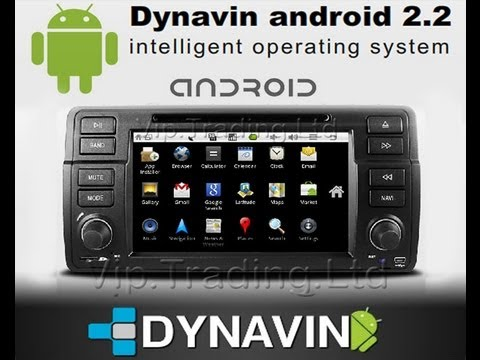 DYNAVIN ANDROID 2.2 BMW E46 3G WiFi DVD GPS Google Multimedia PC Car Stereo Radio