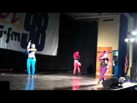 Omg Girlz Performing at the Grady Cole Center