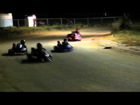Auto Racing Dirt Tracks Alabama on Dirt Track Oval Kart Racing Crash   North Vernon Indiana