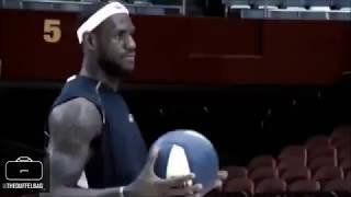 LeBron James highest jumps in the NBA