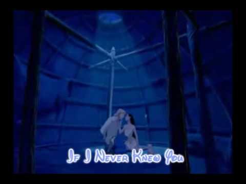 If I Never Knew You-Pocahontas lyrics