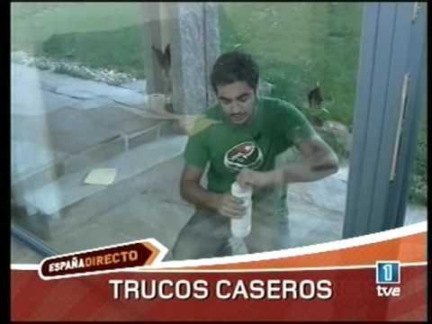 Como limpiar vidrios de ventanas manchados
