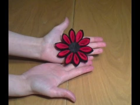c mo hacer una flor kanzashi con fieltro On manualidades facilisimo com