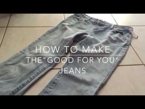 "How to Make Selena Gomez's ""Good For You"" Jeans 