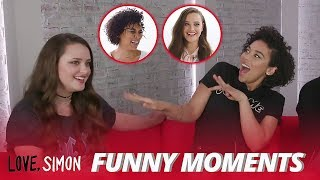 Alexandra Shipp Wanna Date Katherine Langford - Funny Moments