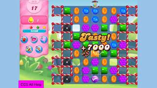 Candy Crush Saga Level 3416 in 15 moves NO BOOSTERS