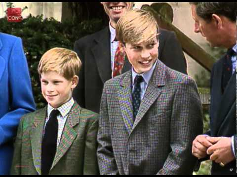 Princess Diana's Funeral Part 10: Prince William & Prince ...