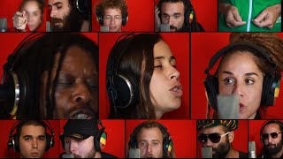 Happy 70th Birthday Bob Marley Could You Be Loved Acapella Version 2015 Marley70
