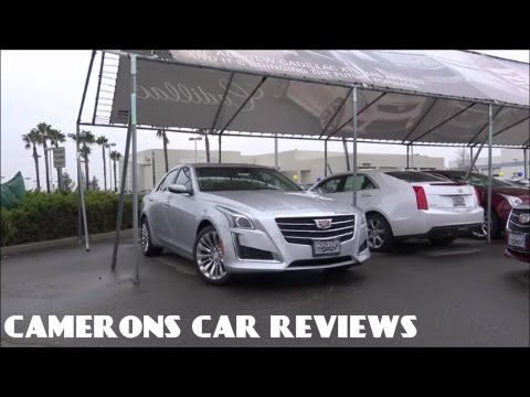 2016 Cadillac CTS Luxury Review: A 5 Series Killer? | Camerons Car Reviews