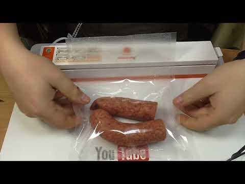 Вакуумный упаковщик. Для вакуумной упаковки продуктов питания.