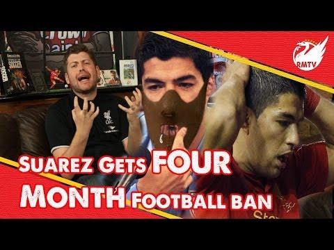 Luis Suarez Banned For 4 Months | Uncensored LFC Fan Reactions