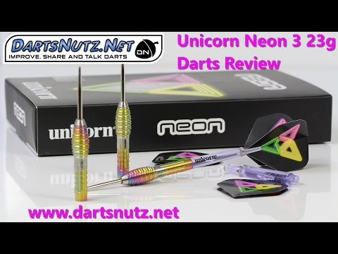 Unicorn Neon 3 23g darts review