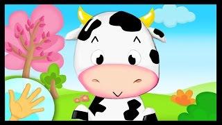 La comptinette de la vache - Petites comptines à gestes pour bébés - Titounis