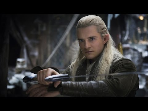 The Hobbit - Orlando Bloom, Luke Evans, and Andy Serkis Interview - Comic Con 2014
