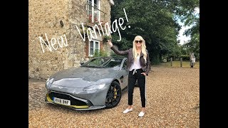 Driving the new Vantage to UK's biggest car Festival!