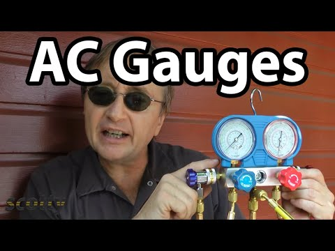 Using AC Pressure Gauges To Fix Car AC Problems