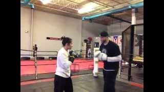 Coach Rick The Mittologist 2013 Cutting Edge Unique Boxing Padwork / Mittwork Training Systems