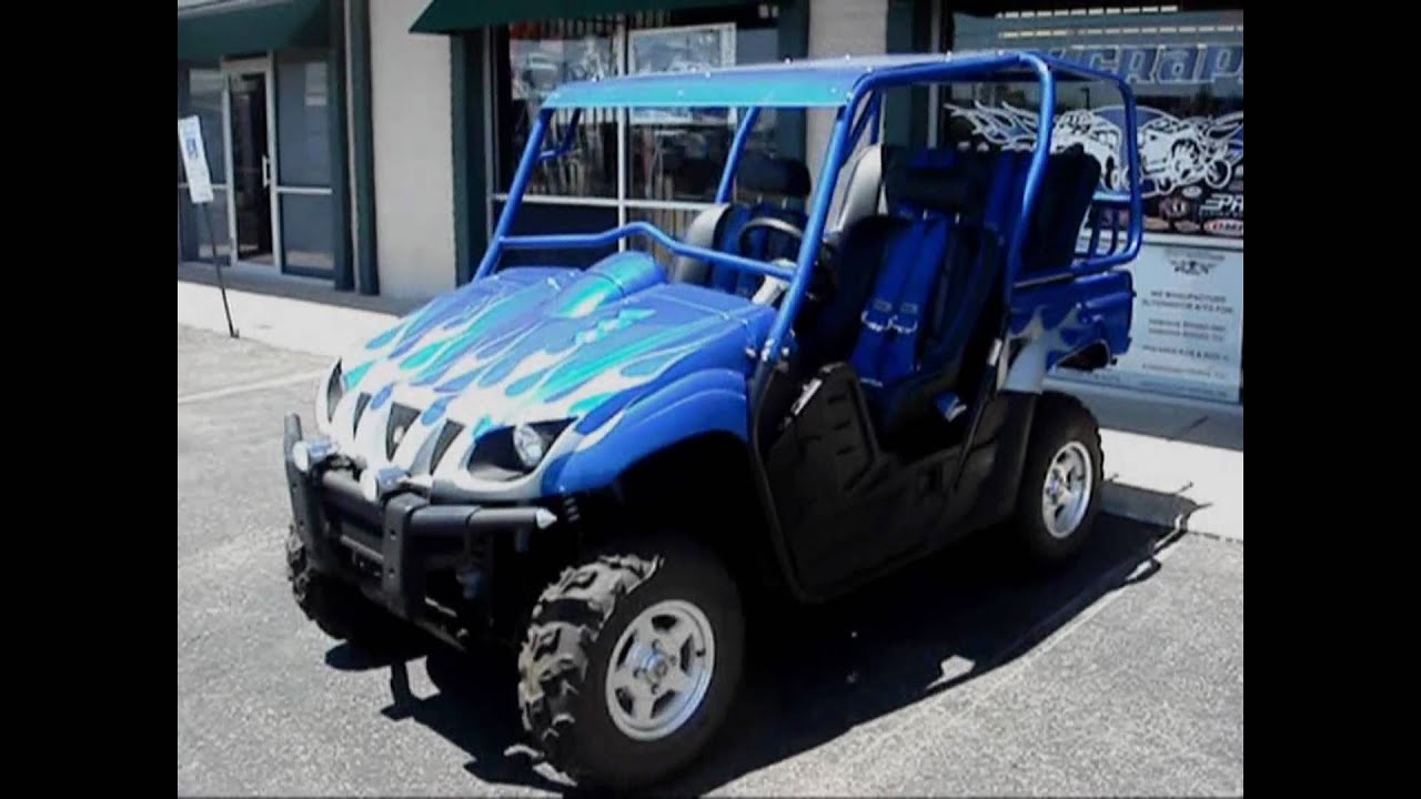 A 2006 yamaha rhino 660 for 2004 yamaha grizzly 660 value