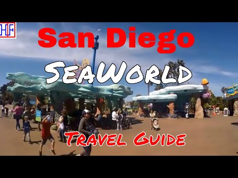 San Diego | SeaWorld San Diego | Tourist Attractions | Episode# 7