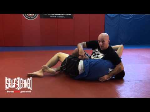Near Side Top Half Guard Pass - No Gi Jiu Jitsu Technique Image 1