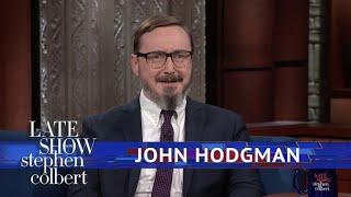 John Hodgman And Stephen Debate: Is A Hot Dog Is A Sandwich?