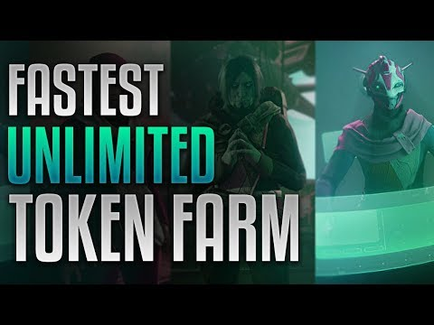 Destiny 2 - FASTEST UNLIMITED FACTION TOKENS [9 Tokens Per Minute]