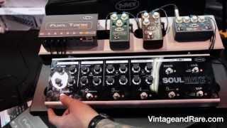 T-Rex Effects  / Soulmate / Vulture / Creamer / Replay Box / Vintage & RareTv / NAMM 2014