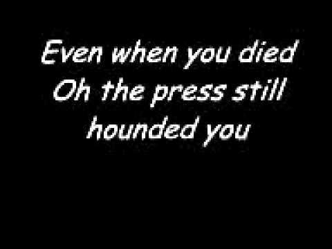 Elton John- Candle In The Wind. with lyrics