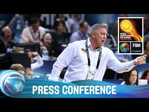 Turkey v Australia - 3rd Place Press Conf. - 2014 FIBA World Championship for Women