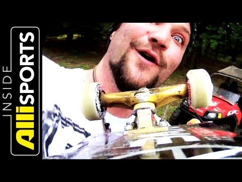 Bam Margera Shows Chris Nieratko His Art & Talks Projects