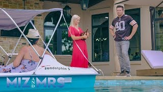 The Miz questions why Marjo has a paddleboat in the pool: Miz & Mrs. Preview Clip, April 23, 2019