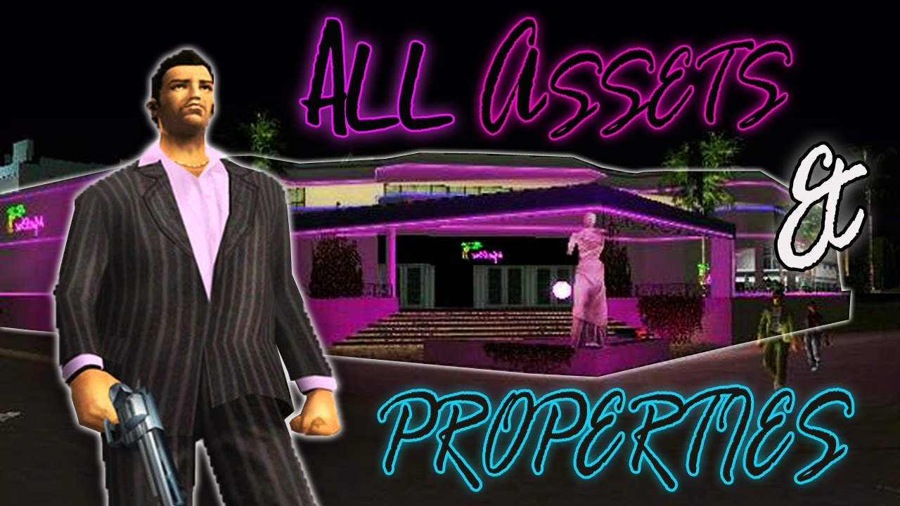 Vice City Map Properties GTA Vice City  Buying All