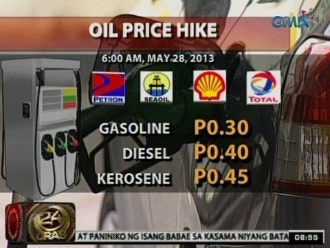 24Oras: Oil price hike, ipinatupad ng ilang oil firms