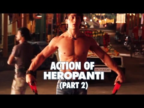 Action of Heropanti (Part 2) | Tiger Shroff Kriti Sanon