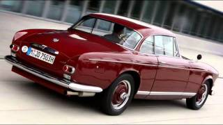 1956 BMW 503 Coupe 3.2 V8 140 hp 185 kmh 0-100 kmh 13 s
