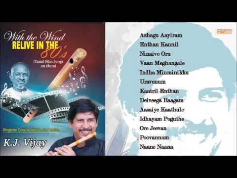 Best of K.J.Vijay | Instrumental |Tamil Film Songs on Flute | Ilaiyaraaja | Audio Jukebox
