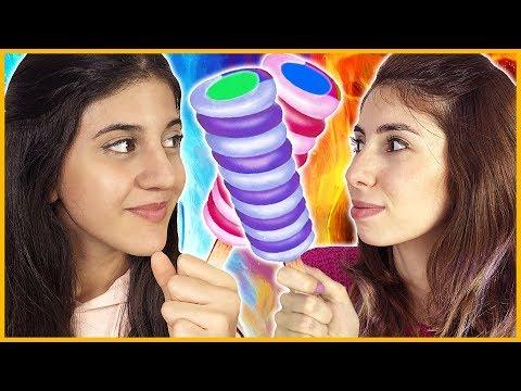 Sihirli Dondurma Telepati Challenge Eğlenceli Çocuk Videosu Dila Kent