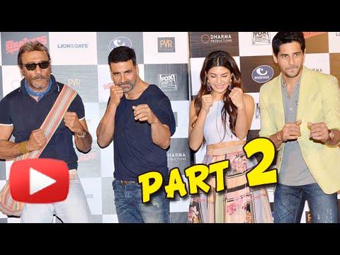 (VIDEO) Brothers Trailer Launch | Akshay Kumar, Sidharth Malhotra, Jacqueline, Karan Johar | Part 2