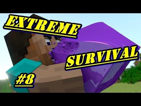 Minecraft PE - EXTREME SURVIVAL - EP.8  [ Животни 🐮 🐑 !! ]
