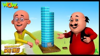 Mobile Tower - Motu Patlu in Hindi - 3D Animation Cartoon for Kids -As seen on Nickelodeon