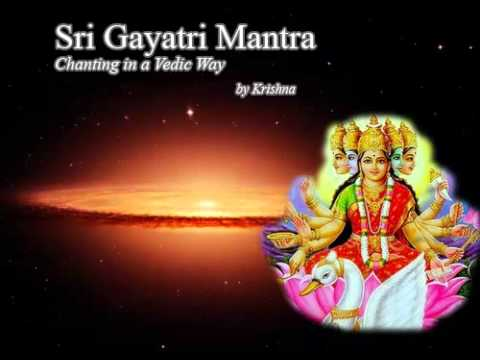 Gayatri Mantra Chanting In Vedic Way - Sanskrit ,tamil & English video