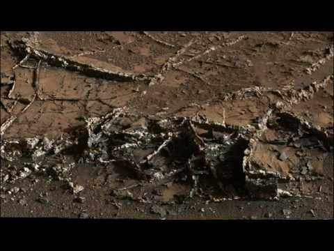 Mars Rover Finds Strange 'Vein' Structures In Garden City