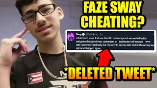 FaZe Sway Caught CHEATING In Tournament..? THE FULL STORY!