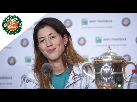 Roland-Garros 2016 Press conference Muguruza / Final
