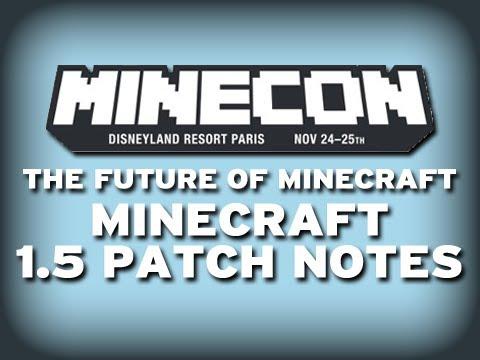 Minecraft 1.5 News