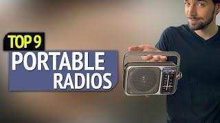 TOP 9: Best Portable Radios 2018