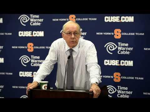 Syracuse Orange Basketball: Jim Boeheim post-game Southern Florida