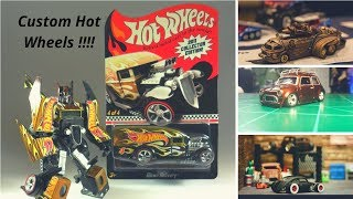CUSTOM HOT WHEELS WITH TRANSFORMERS !!!!!!!!!!!!! PART -1