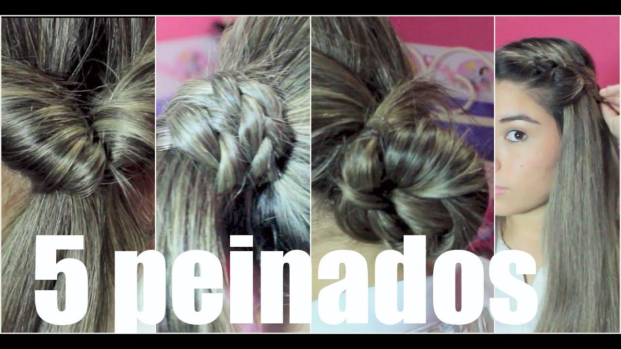 5 peinados para el cole faciles y rapidos by clauualee - Platos rapidos y sencillos ...