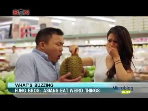 Fung Bros: Asians eat weird things-Microblog Buzz-July 24,2013 - BONTV China